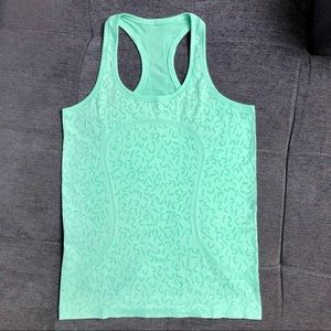 Lululemon 2015 Seawheeze Swiftly Tank Green 8